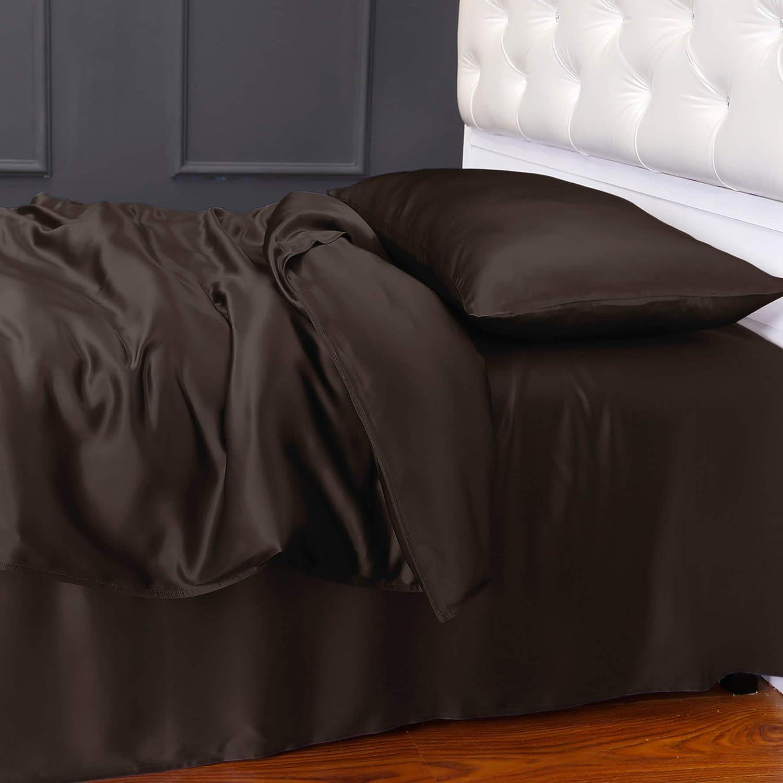 Gold LilySilk 1002-07-USKN 19 Momme Silk Duvet//Quilt//Comforter Cover 104 x 92 King