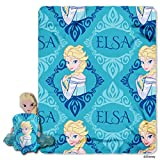 Disney Frozen, Elsa Hugger and Fleece Throw Blanket Set, 40'' x 50''