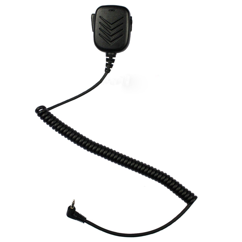 KEESIN Schulter Remote-Lautsprecher-Mikrofon für 1 PIN Yaesu Vertex Walkie Talkie Radio-FT-50 FT-60 FT-10R FT-40R FT-50R FT-60R VX-110 VX-150 VX-130 VX-131 VX-132 VX-160 VX -180 VX-210 VX-210A etc
