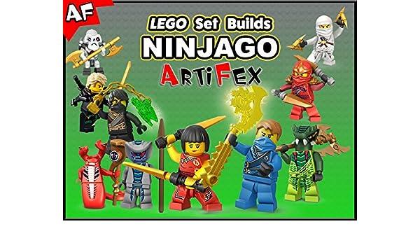 Amazon.com: Watch Clip: Lego Set Builds Ninjago - Artifex ...