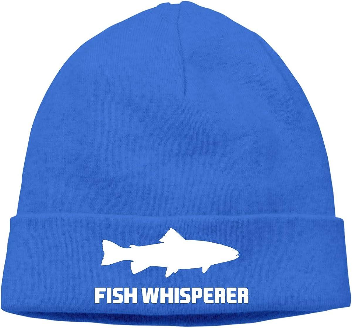 Cgi03T-2 Soft Knitting Hat for Unisex Fish Whisperer Salmon Stocking Cap