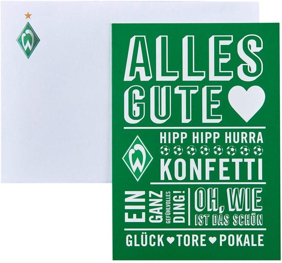 """SV Werder Bremen Glückwunschkarte /""""Strandkorb/"""""""