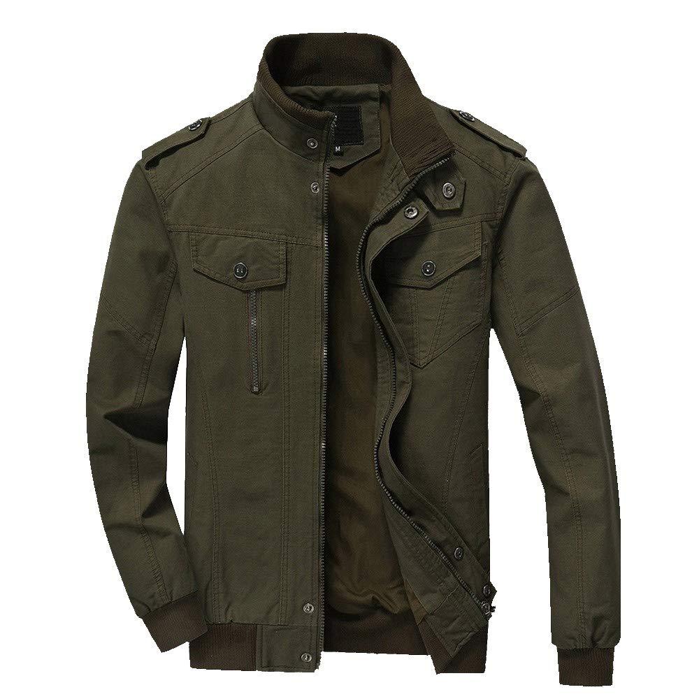 Pandaie-Mens Product Big and Tall Winter Jackets for Men.Men Winter Warm Jacket Overcoat Outwear Slim Long Trench Zipper Coat