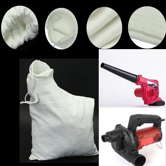 eastar Leaf Blower Vacuum Bag Mulcher Lawn Yard Shredder VAC Garden Tool fit for Weed Eater Barracuda 2595