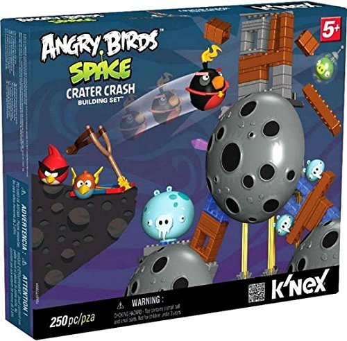 Angry Birds Space KNEX Exclusive Building Set #72437 Crater - Space Birds Angry Toys