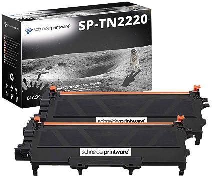 2 Schneider Printware Toner 300% Mayor Alcance Compatible con TN ...