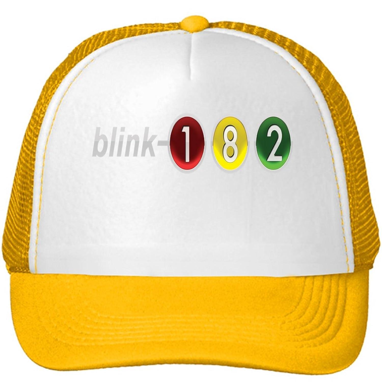 Blink 182 Printed Mesh Snapback Trucker Hats Caps