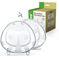 haakaa Ladybug Breast Milk Collector - Soft Breast Shells | Wearable Nursing Cups | Breastmilk Saver| Letdown Catcher…