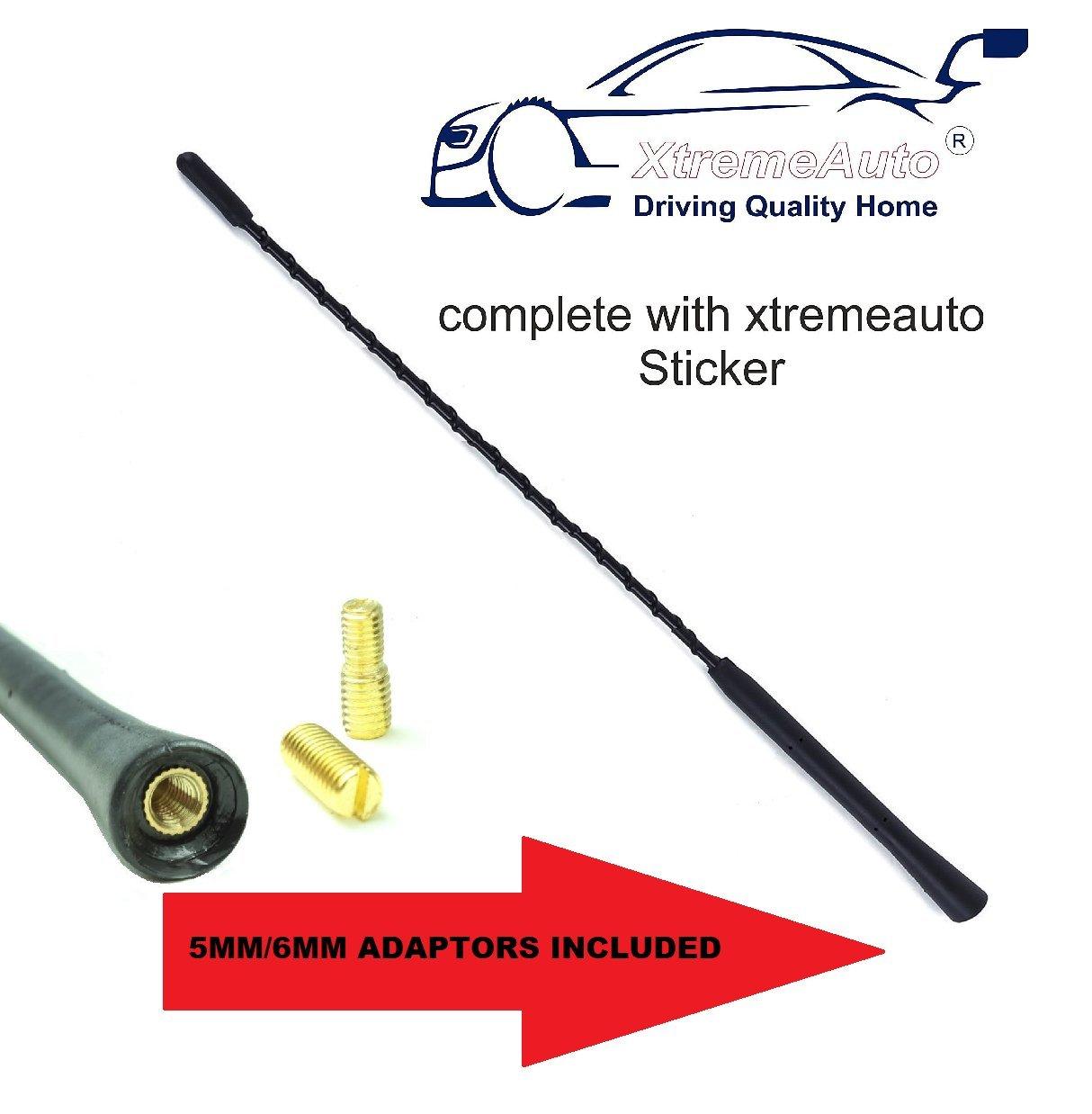 XtremeAuto/® Universal Black Car Aerial Antenna 23CM // 9 INCH SHORT