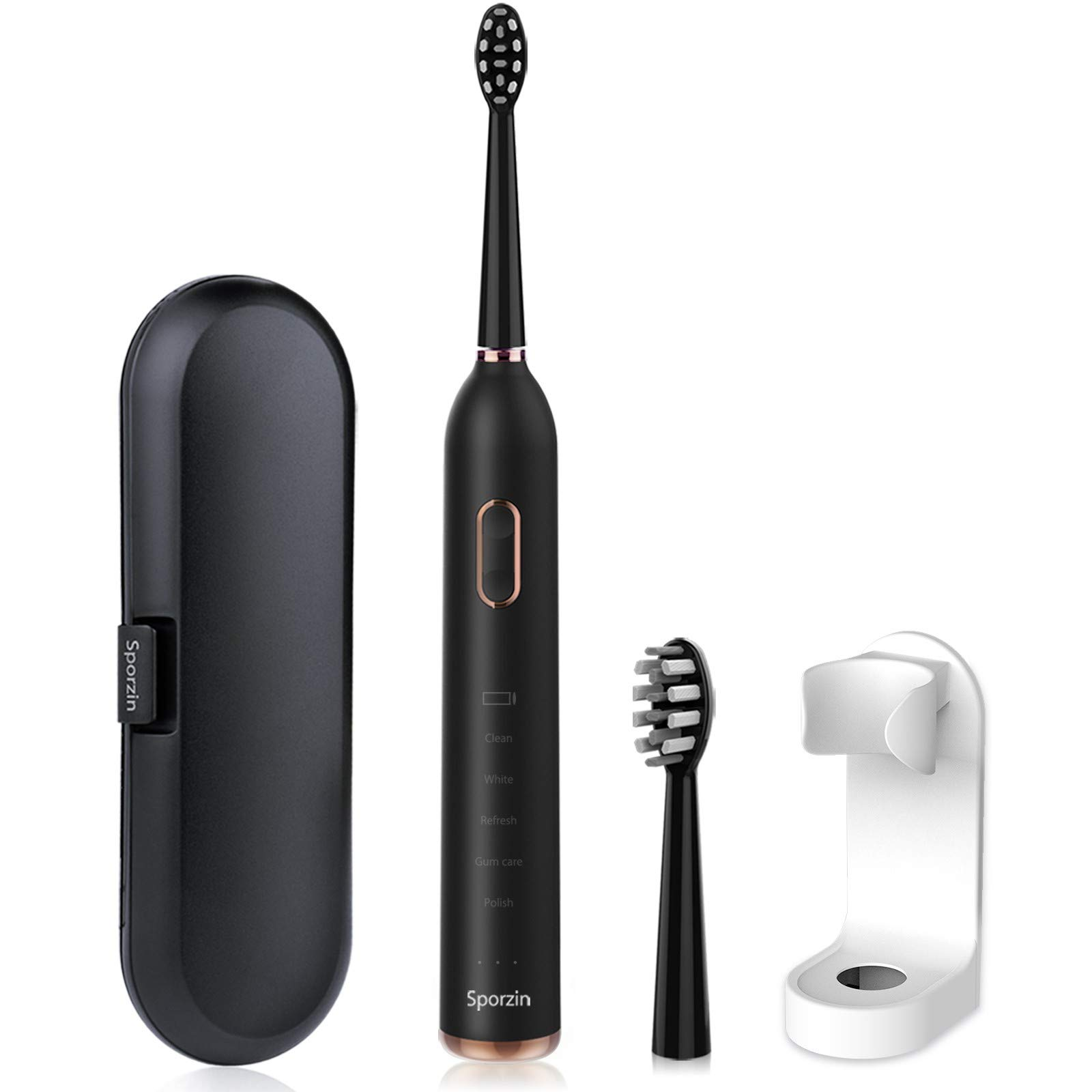 Sporzin Electric Toothbrush Electric Toothbrushes for Adults Sonic Toothbrush Electronic Toothbrush Electric
