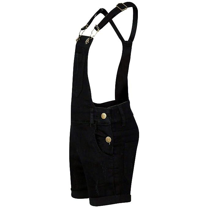 26028ef113f A2Z 4 Kids® Kids Girls Dungaree Shorts Designers Light Blue Denim Stretch  Jeans Jumpsuit Playsuit ...