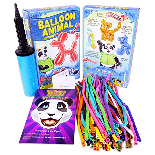 Why Should You Buy Balloon Animal University PRO Kit with 100 balloons, Now With NEW Sculptures! How...