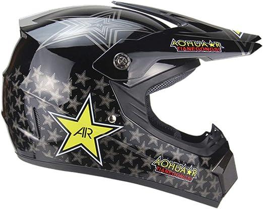 ATEMXI Casco de Motocross Casco de Motocross Casco para Bicicleta ...