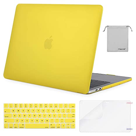 Amazon.com: Mosso - Carcasa rígida de plástico para MacBook ...