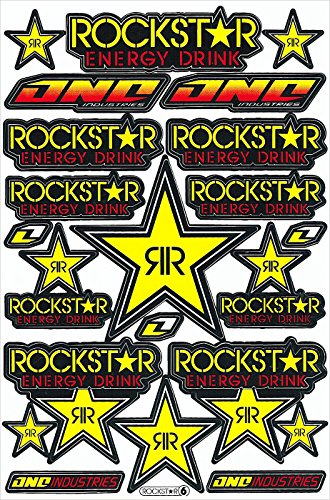 rockstar energy drink decal - 1