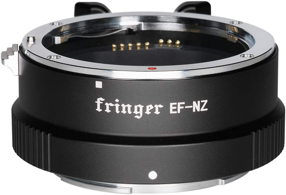 Fringer EF-NZ Canon to Nikon Lens Adapter Auto Focus Adapter Ring Compatible with Canon EF Lens to Nikon Z Mount Z6 Z7 Z50 Cameras Adapters
