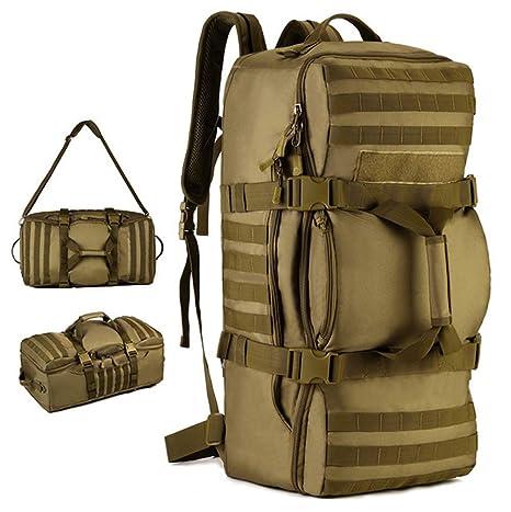 REIZYO Mochila Militar Táctica, 60L Multifunción Excursionismo Trekking Rucksack,Montañismo Impermeable Deporte Backpack,