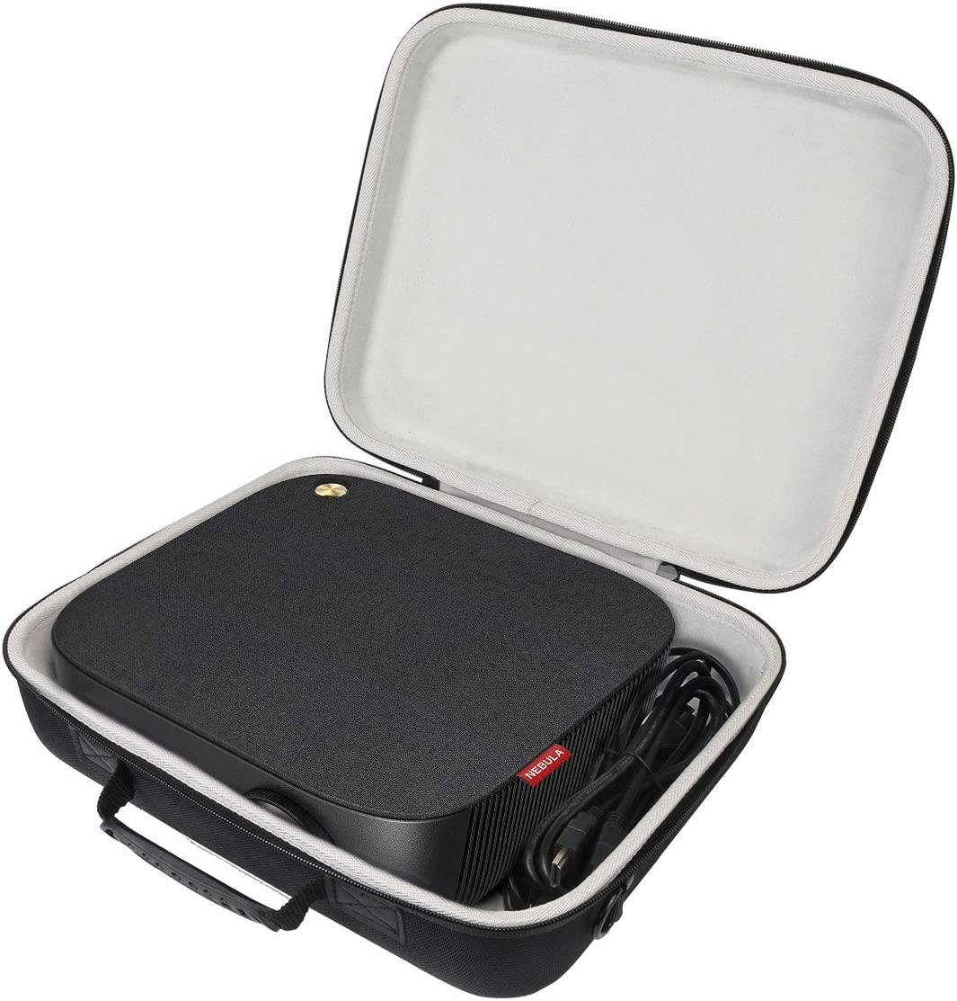 Khanka Hard Travel Case Replacement for Nebula by Anker Prizm II 3600 Lux Full HD 1080p LED Multimedia Projector