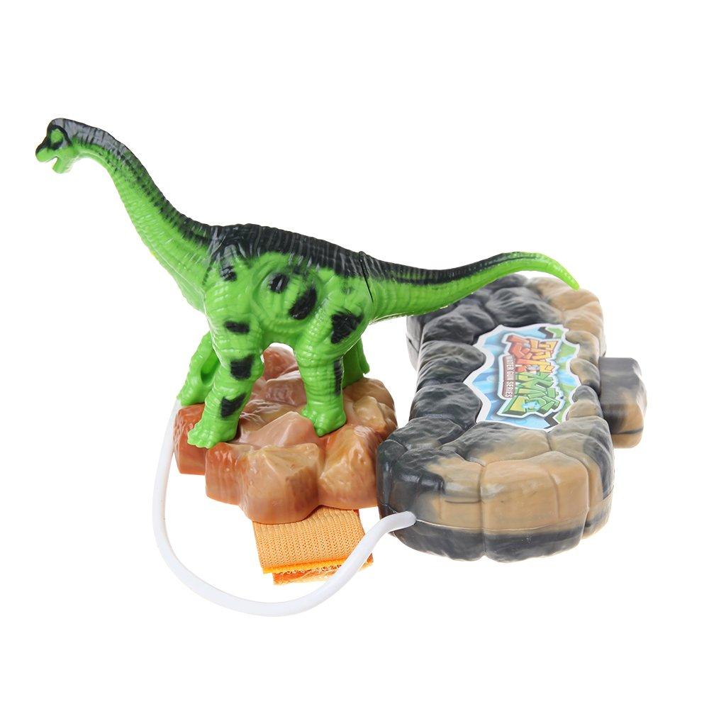 Junlinto Mu/ñeca de Dinosaurio Pistola de Agua Piscina Juguete de Playa Juguete de ba/ño de Exterior Juguete Jur/ásico F