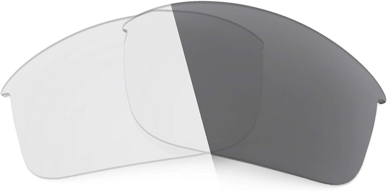 Revant Verres de Rechange pour Oakley RPM Edge - Compatibles avec les Lunettes de Soleil Oakley RPM Edge Photochromique Gris Adaptatif Nonpolarisés Elite