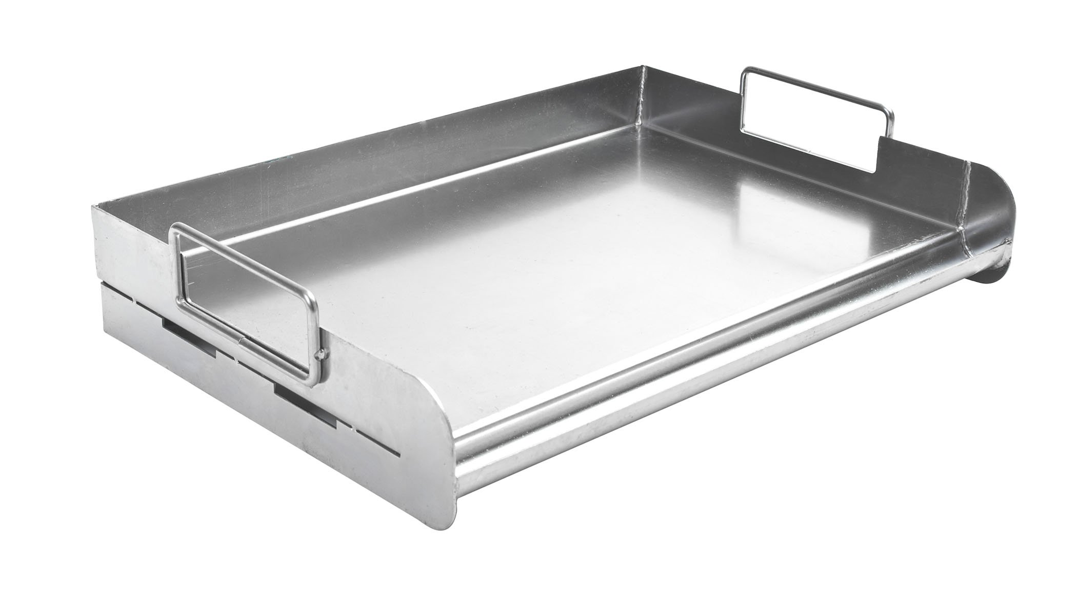 Charcoal Companion CC3500 Stainless Steel Pro Grill Griddle by Charcoal Companion