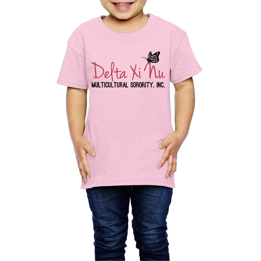 Yishuo Youth Help US Become A Chapter Casual Style Travel T Shirt Short Sleeve Pink 2 Toddler