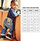 Levi's Baby Girls' Denim Western Shirt, Blue Winds, 12 Months