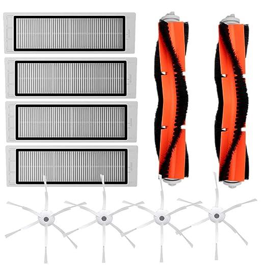 Mumuj - Kit de accesorios para robot aspirador, cepillo lateral ...
