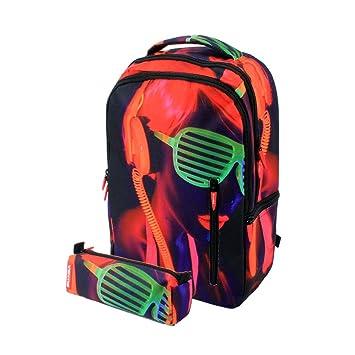 Pack Escolar de Mochila y portatodo: Amazon.es: Equipaje