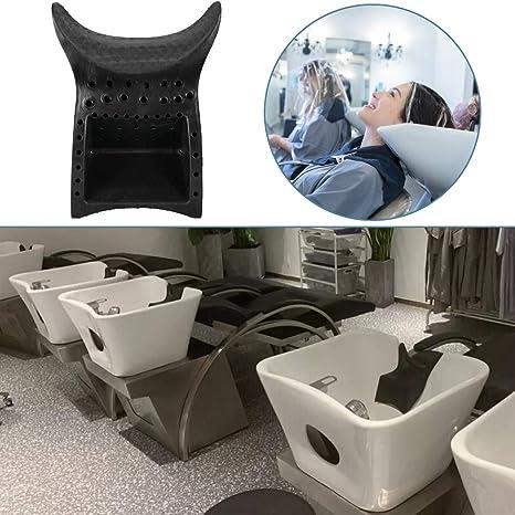 Shampoo Bowl Neck Rest Suction Cushion, Silicone/PU/PVC Salon Spa Hair Washing Backwash Unit Wash Sink Neck Rest Pillow Grip Professional Accessories ...
