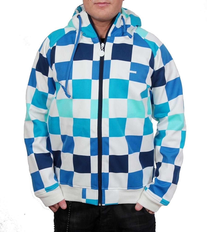 Hum?r Timmy Off White Nylon Jacket Blue Size L