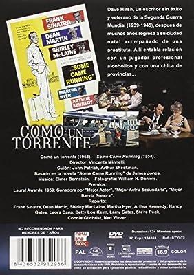 Como un torrente DVD: Amazon.es: Frank Sinatra, Dean Martin, Shirley MacLaine, Martha Hyer, Arthur Kennedy, Nancy Gates, Leora Dana, Vincente Minnelli, Frank Sinatra, Dean Martin: Cine y Series TV