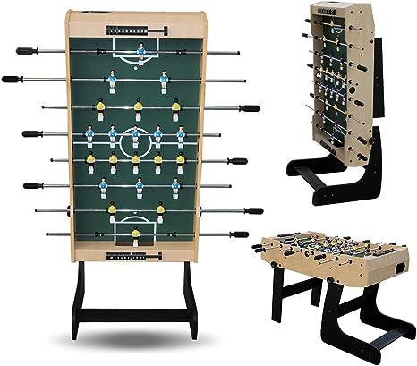 22 x jugadores?Futbolín plegable Mesa de fútbol Fútbol Tabla ...
