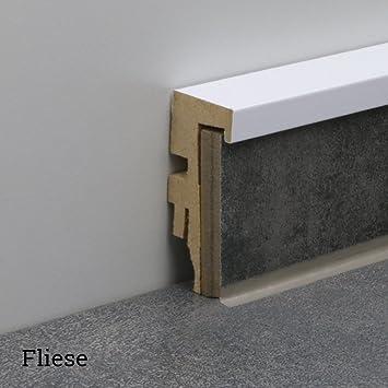 Sockelleisten Für Fliesen universal sockelleiste klebleiste aus mdf nt11 für parkett laminat