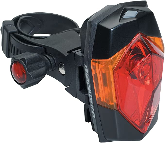 Blackburn Mars Magnetic Rear Safety Light 2 Red Led Battery Included Mountable