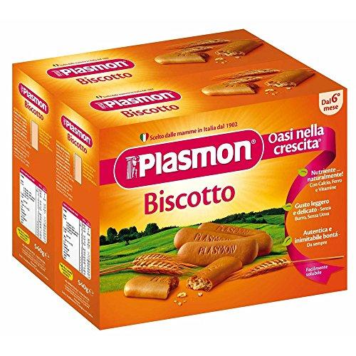 Plasmon Biscuit 2x540g
