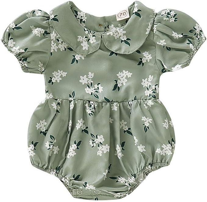 Hongyuangl Imprimir Romper Traje de Sol Traje Princesa Camisa Ropa Bebé Mellizos Recién Nacido Body: Amazon.es: Ropa y accesorios