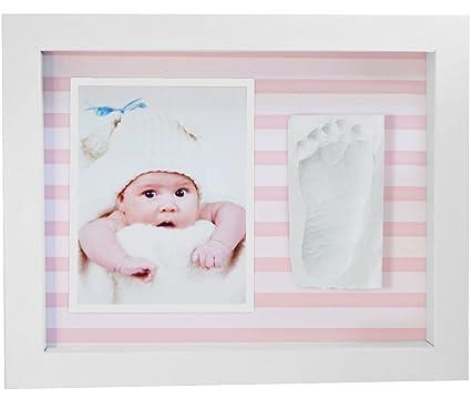Marco de Fotos para Bebé,3D Marco de Huellas para Niños - Regalos para