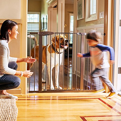 Munchkin Easy Close XL Metal Baby Gate Extension, Bronze, 11 inch by Munchkin (Image #1)