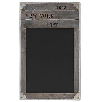 Schultafel mit kreide und schwamm  Amazon.de: Nostalgische Holz-Kreide-Tafel 'NEW YORK 1968 ...