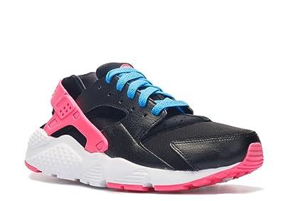 nike huarache blue and pink