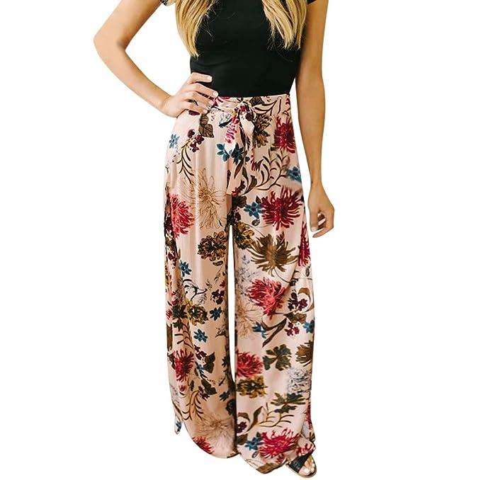 Amazon.com: Sinfu - Pantalones de verano para mujer, estilo ...