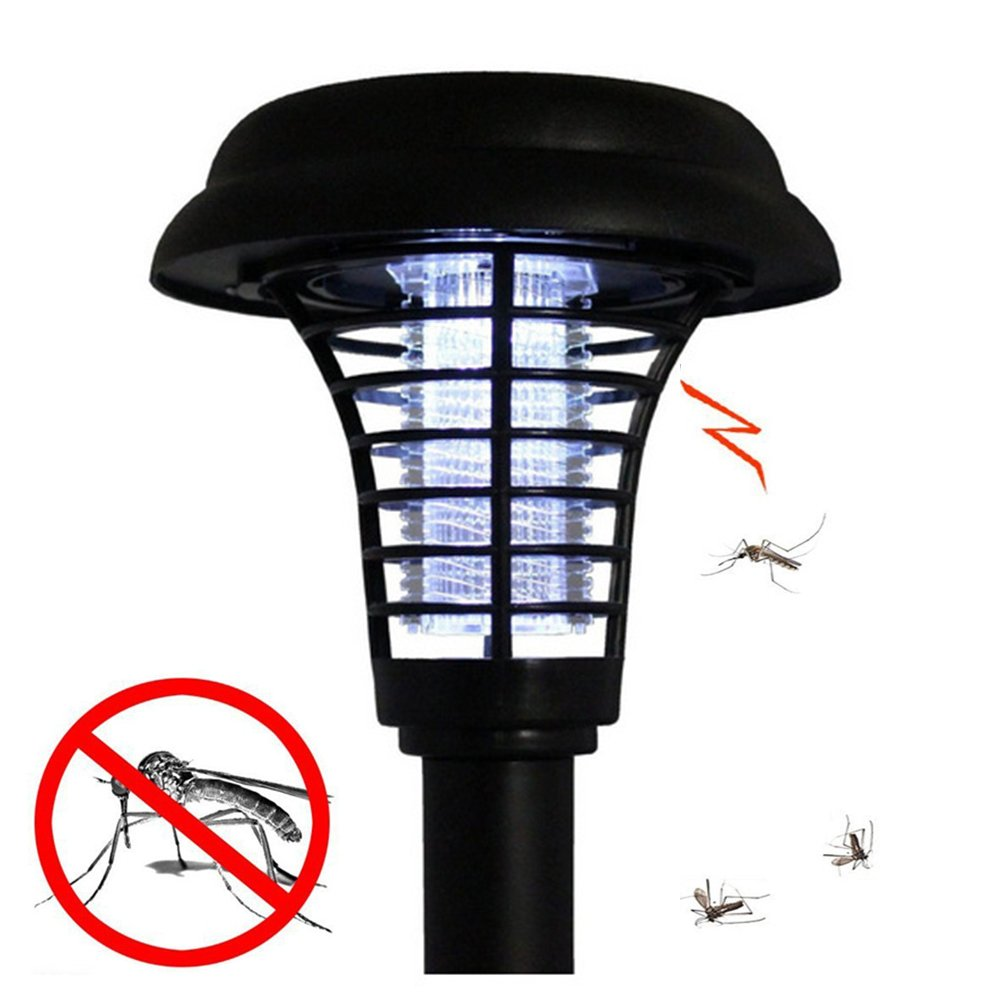 Wall Mounted Uv Lights : Solar LED UV Wall-Mounted Garden Light Mosquito Insect Pest Bug Zapper Killer eBay