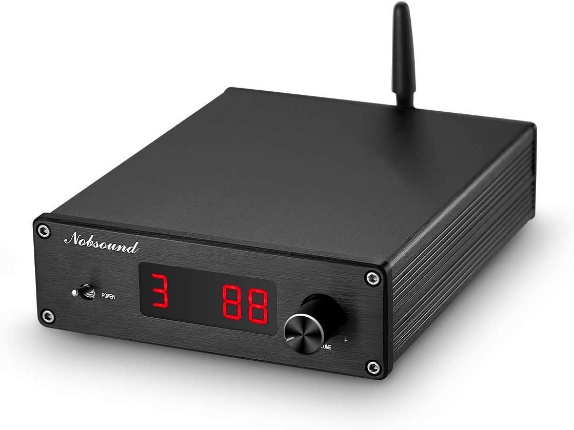 Nobsound PGA2310 Bluetooth 4.2 Audio Receiver Hi-Fi Preamplifier Remote Control