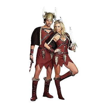 Amazon.com: Viktor Sexy disfraz de hombre Viking, talla ...