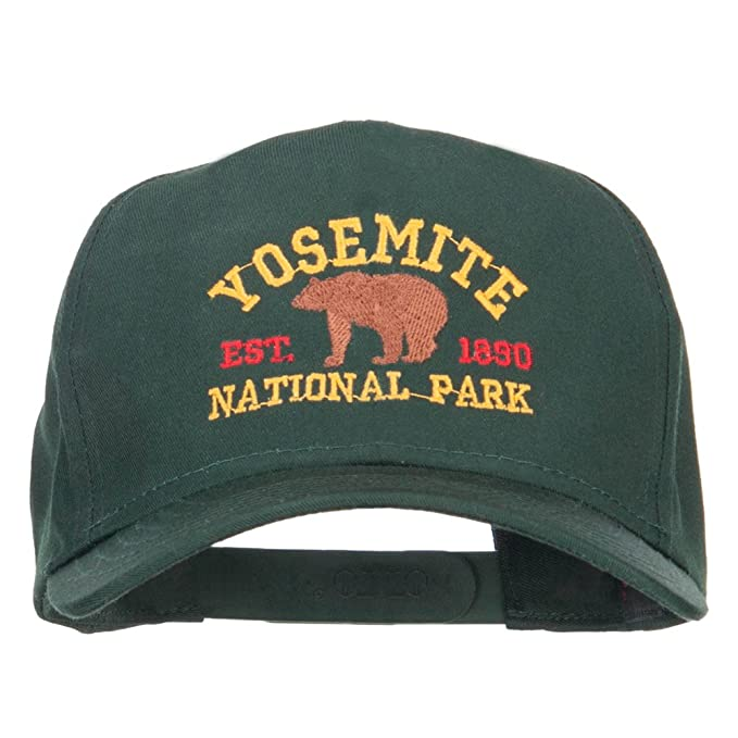 3848337ea Yosemite National Park Gold Embroidered Cap