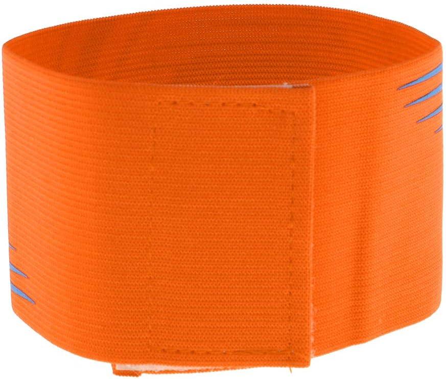 Unbekannt Baoblaze Verstellbare Fussball Armbinde Captain Armband Kapit/änsbinde Spielf/ührerbinde f/ür Herren Damen Kinder
