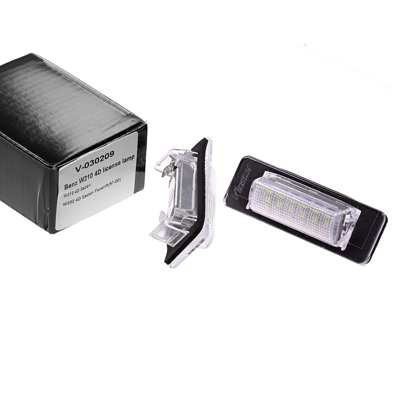 Iluminaci/ón LED de matr/ícula M/ódulo con Autorizaci/ón