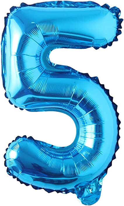 Customized|Custom Name balloon|Modern Design|balloon included Personalized 40inch Foil balloon number 1 blue