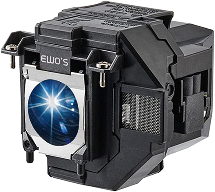 EWO'S Replacement Projector Lamp for ELPLP96 Epson Powerlite Home Cinema 2100 2150 1060 660 760hd VS250 VS350 VS355 EX9210 EX9220 EX3260 EX5260 EX7260 X39 W39 S39 109W V13H010L96 Lamp Bulb Replacement
